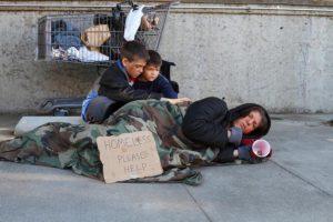 homeless family wilmington nc
